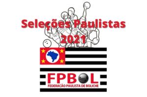 Seleções Paulistas 2021